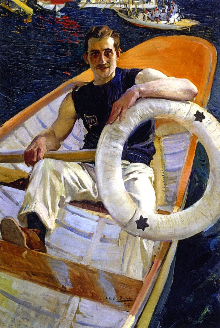 'Remero' by Joaquin Sorolla y Bastida, 1908. Oil on canvas. Private collection.