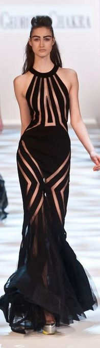 Georges Chakra Haute Couture Spring 2013 Kelly Rowland wore this so much better