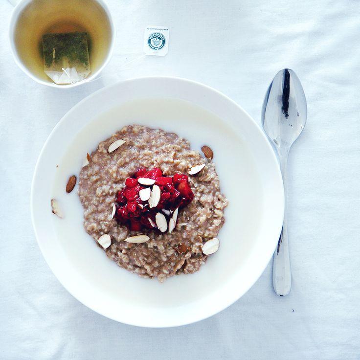 COOKING WITH : ebba zingmark | gingerbread porridge | jenny mustard