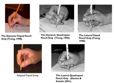Pediatric Occupational Therapy Tips: Pencil Grasp