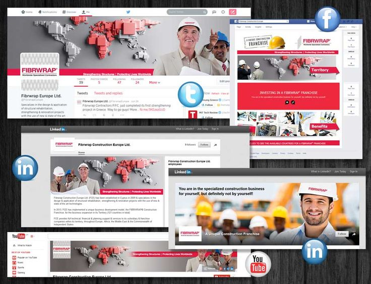 ThinkBAG engaged the strategic on line communication & marketing of Fibrwrap Europe through social media. Our provided services comprise of: Strategy | Design Graphics | Posts | Administration