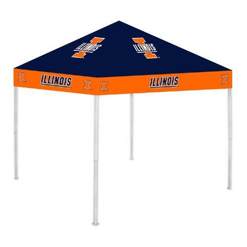 Illinois Fighting Illini NCAA Ultimate Tailgate Canopy (9x9)