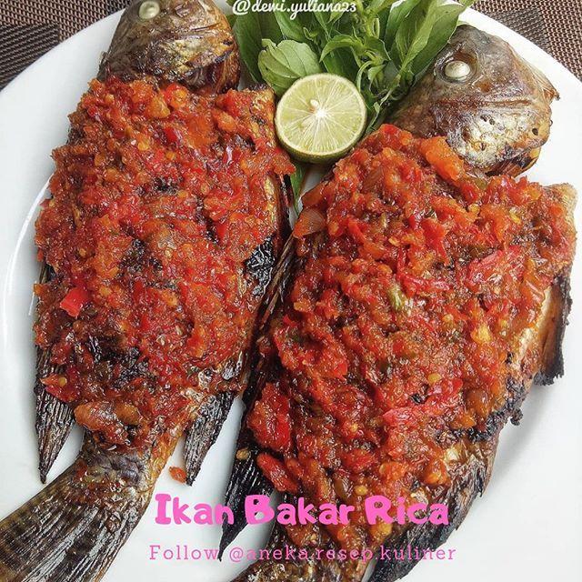 Pin Oleh Margarita Lewis Di Resep Ikan Mas Ikan Bakar Resep Ikan Mas Resep