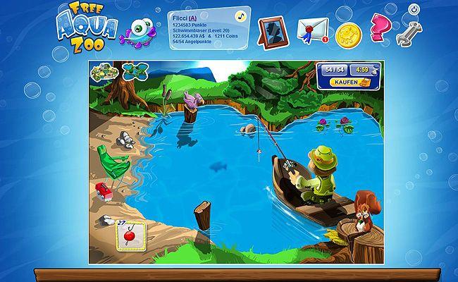 Lust auf ein kostenloses Online-Aquarium? Wenn ja, dann gefällt dir das kostenlose Online Spiel Free Aqua Zoo bestimmt genauso gut wir mir! In diesem Browsergame kannst du online dein eigenes Aquarium gestalten und musst dich natürlich auch um deine kleinen Fische kümmern. Dazu gehört das Füttern ebenso, wie die Reinigung deines Aquariums. Fülle dein Online-Aquarium mit zahlreichen verschiedenen Fischarten, dekoriere es mit lustigen Deko-Artikeln uvm. Mehr über das kostenlose Browsergame…