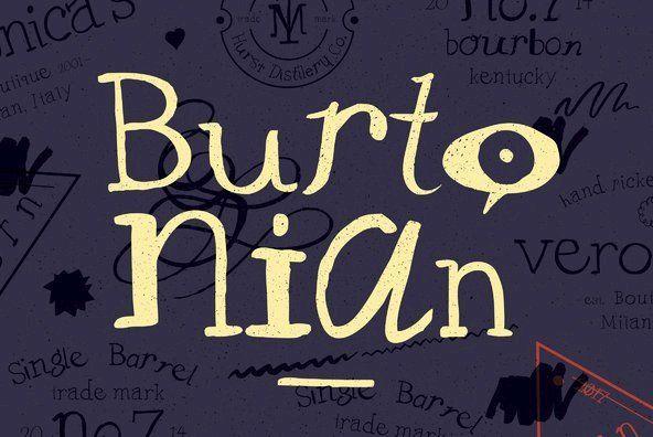 YWFT Burtonian By YouWorkForThem on YouWorkForThem.
