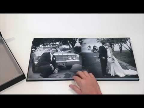 Wedding books at Eddison Photographic Studio