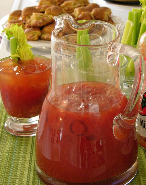 A bloody mary bar the next time i'm hosting brunch