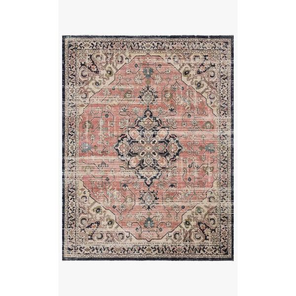 Joanna Gaines Graham Rug Collection – GRA-06 Coral/Navy