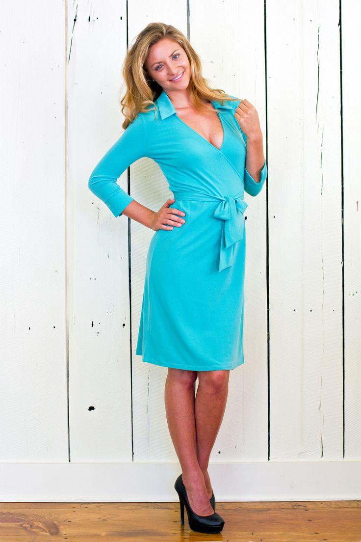 Jodi Mallinson Designs - The Euphemia Wrap Dress, $120.00 (http://www.jodimallinson.com/the-euphemia-wrap-dress/)