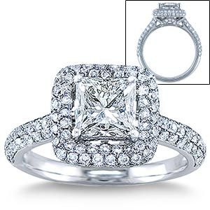 popular youth engagement rings emerald cut engagement