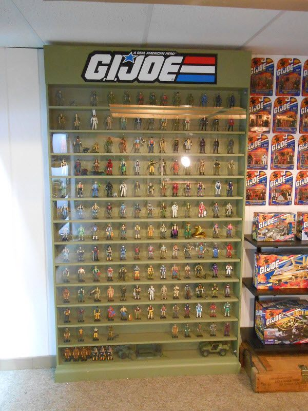 25 Best Ideas About Action Figure Display On Pinterest