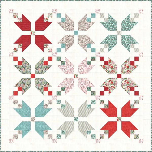 Have you been following us on Instagram and spotted the Figgy Pudding quilt blocks featuring Juniper Berry fabrics? Want to make your own after seeing this gorgeous collection paired with the free Fig