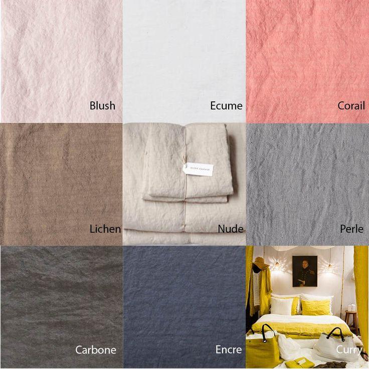 La housse de couette en lin lavé est intemporelle, élégante et luxueuse. Elle est fraiche et légère l'été, douillette l'hiver. Sa confection est d'une grande s