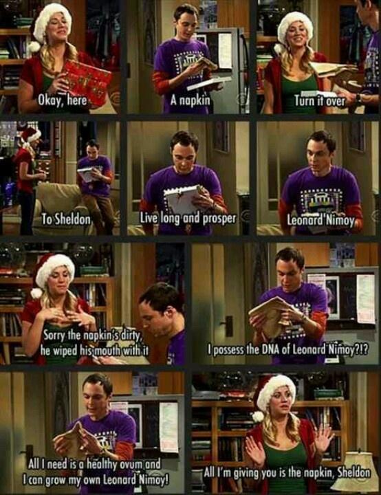 I lovee Big Bang Therory <33
