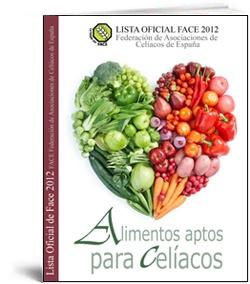 Lista 2012 de Alimentos Aptos para Celíacos