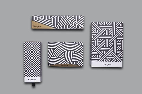 Garçon Brand Identity & Package Design by Brownfox Studio |