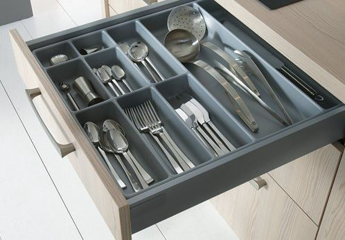 Give your kitchen functionality with little extras from Schüller