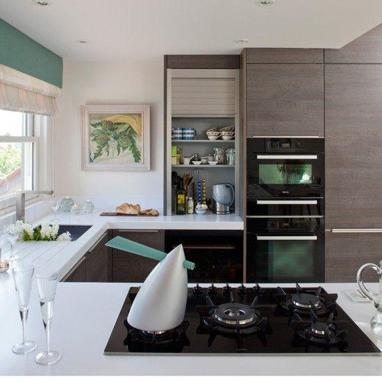Streamlined Modern Kitchen Design