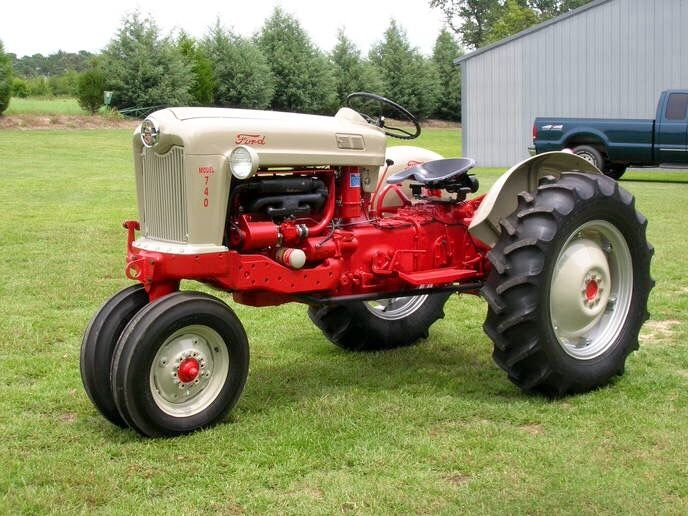 Old Ford Diesel Tractors : Best images about ford on pinterest tricycle and