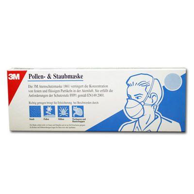 Atemschutzmaske FFP2 3M Feinstaubmaske filtert 99% der Partikel