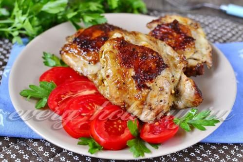 Жареные куриные ножки на сковороде «Объедение»