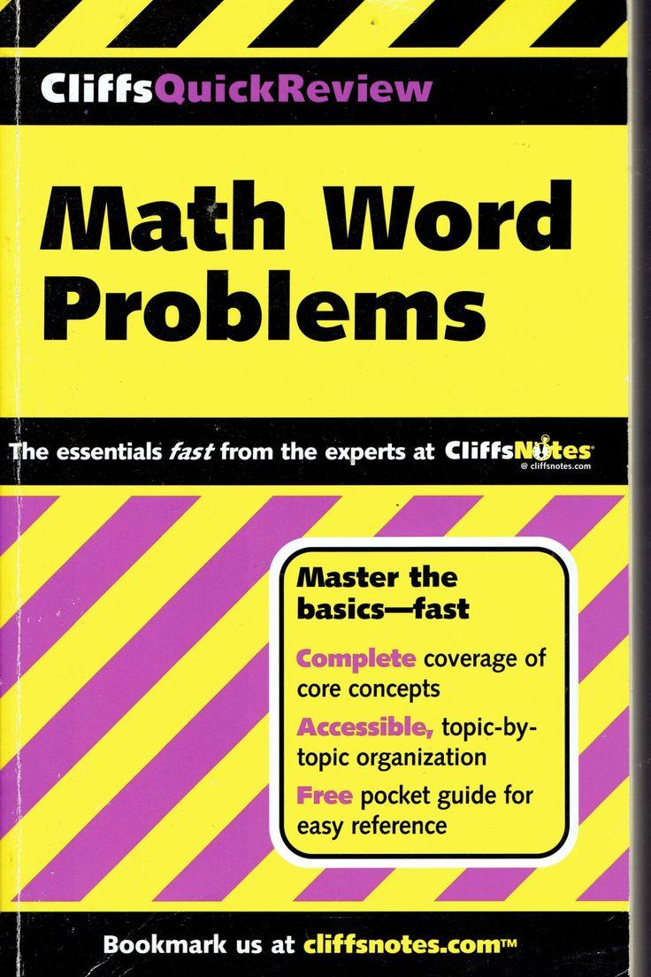 Cliffs+Quick+Review+Math+Word+Problems+by+Karen+
