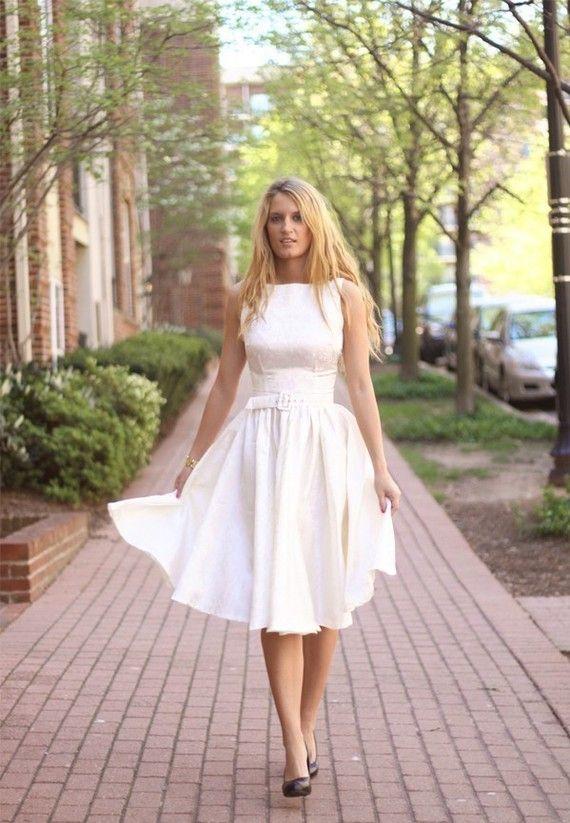 Vintage 50s inspired dress