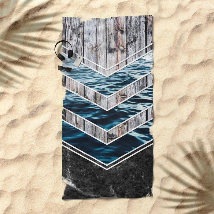 #wood #wooden #marble #stone #sea #ocean #stripe #stripes #striped #nature #texture #towel #beach