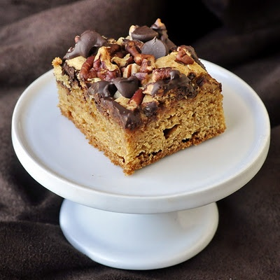 Easy Chocolate Pecan Blondies - Rock Recipes -The Best Food & Photos from my St. John's, Newfoundland Kitchen.
