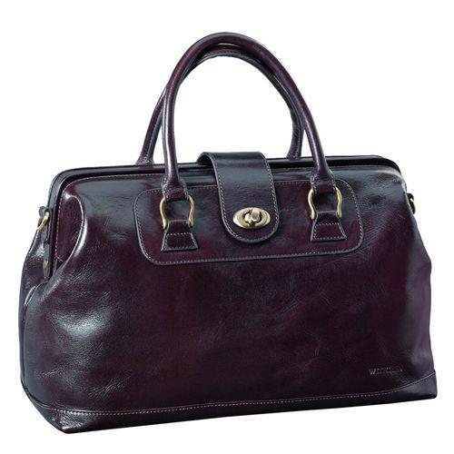 Женская сумка-саквояж коричневого цвета WITTCHEN 35-4-522-4. Купить женские сумки из кожи и замша в Киеве по низким ценам - женские сумки и клатчи в интернет-магазине «Толстосум».