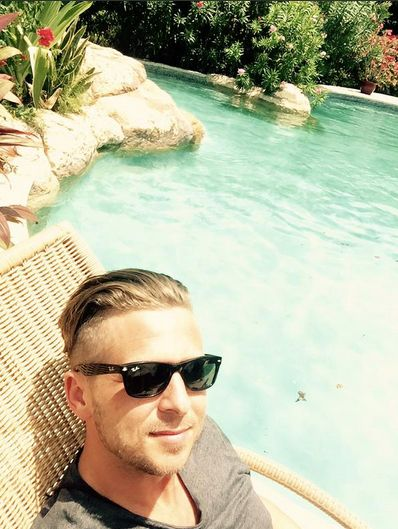 Ryan Tedder: Barbados by the pool