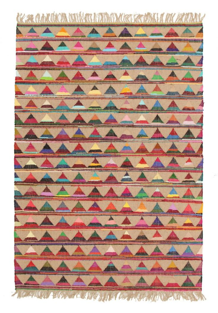 Marlo Naturl Jute And Cotton Rug. Available online only.