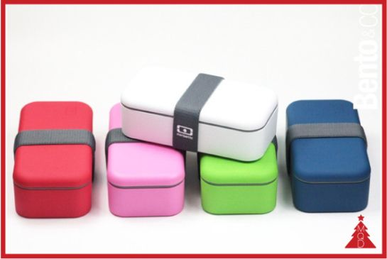 8th DECEMBER MONBENTO box by Monbento to give to:sushi loversandschiscetta's addicted The concept is really simple: bring the idea of the japanese food culture to eat outside the home and mix it...