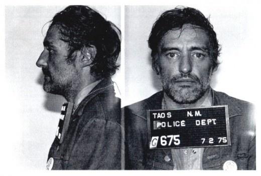 Dennis Hopper - 1975...mug shot...