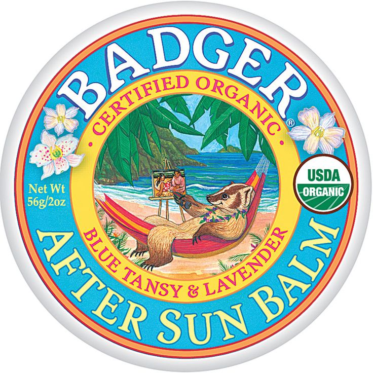 Badger - After Sun Balm Blue Tansy and Lavender