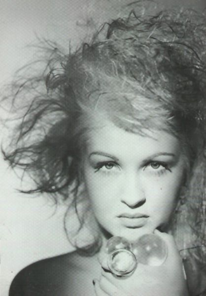 Cyndi Lauper by Matthew Rolston. even in black and white she shines so bright.