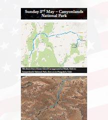 Canyonlands National Park, Utah   Sun 3rd May 2015 — Ned Martin's Dot Org