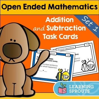 Open ended problems have multiple solutions. This means they are fantastic for helping students to think flexibly. Open ended problems also help students to develop deep understandings of concepts. You can use open ended math problems with all students.