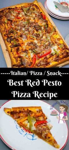 This has got to be t This has got to be the best red pesto pizza...  This has got to be t This has got to be the best red pesto pizza with peppers because its quick delicious and best of all super easy with almost every thing semi homemade making weekday day or kids snack time a breeze. Recipe : http://ift.tt/1hGiZgA And @ItsNutella  http://ift.tt/2v8iUYW