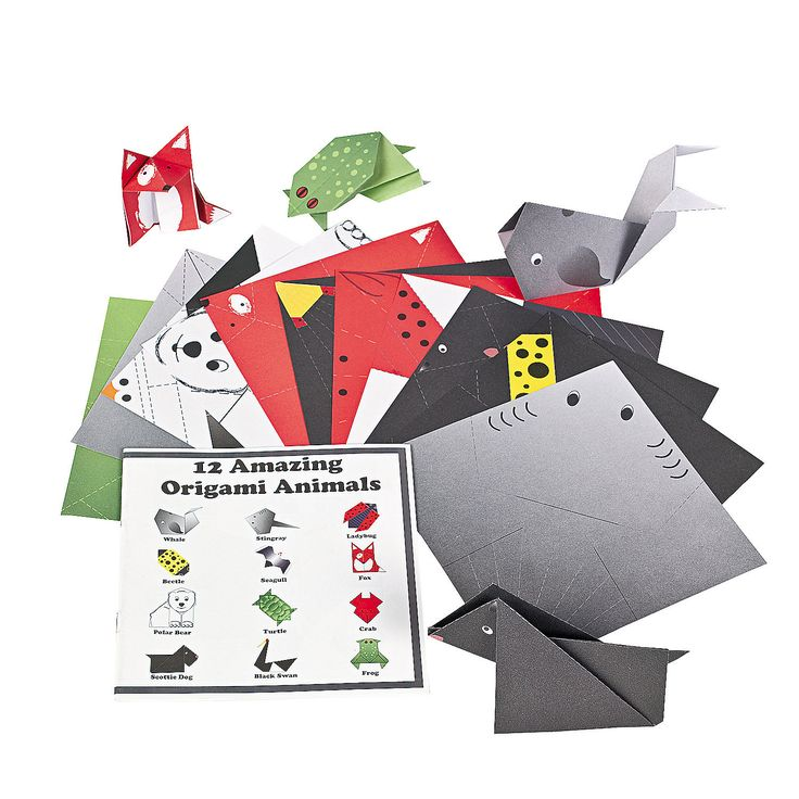 Everyday Origami Booklets - OrientalTrading.com