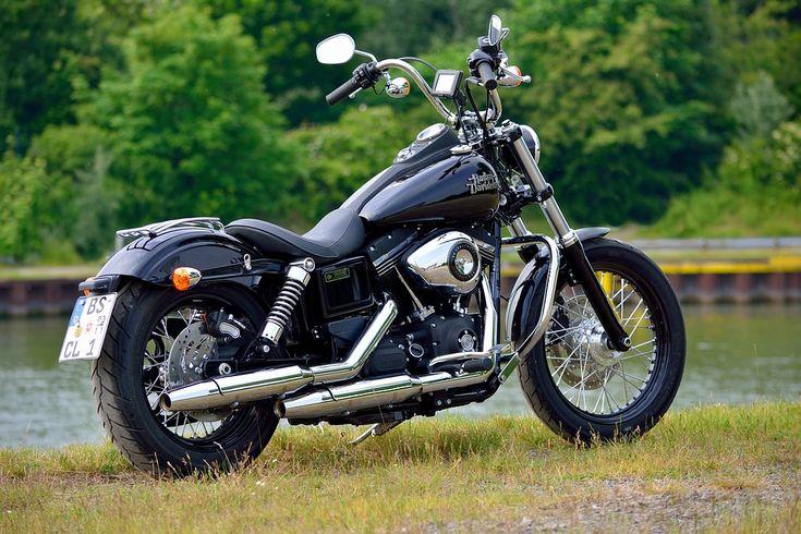 Harley, Βάθος Πεδίου, Νερό, Harley Davidson, Streetbob