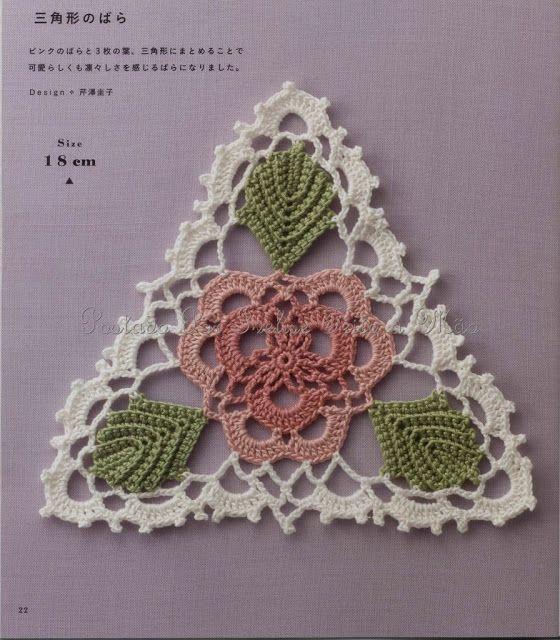 100 besten crochet - motifs Bilder auf Pinterest | Häkelmotiv ...
