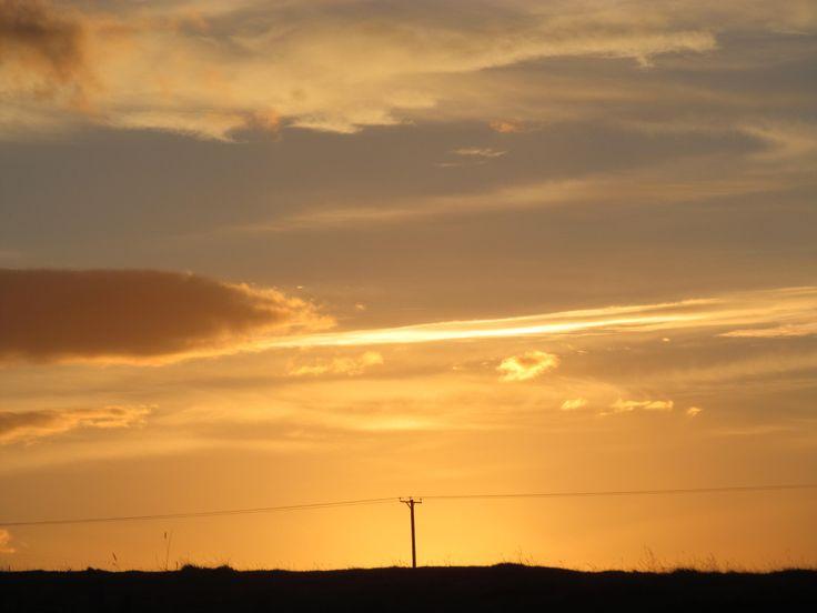 Galloway sunset