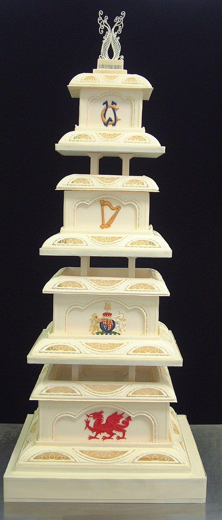 Royal Welsh Wedding cake Keywords: #weddings #jevelweddingplanning Follow Us: www.jevelweddingplanning.com  www.facebook.com/jevelweddingplanning/