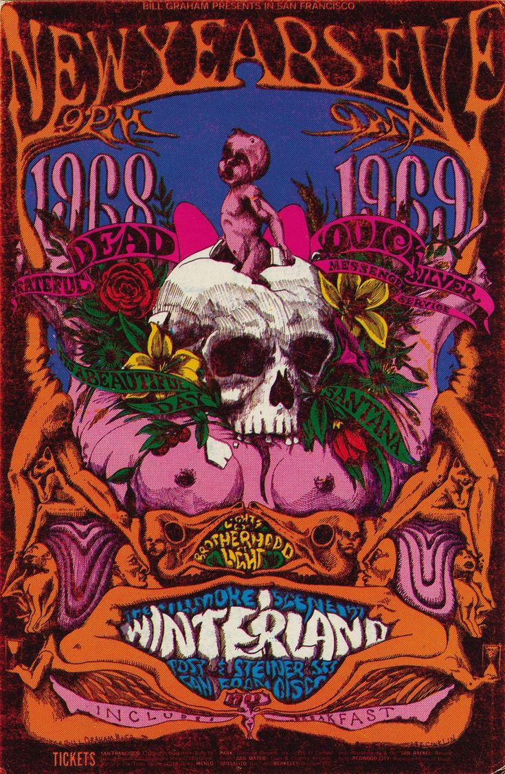 """New Years Eve 1968/1969"" Grateful Dead/ Quicksilver Messenger Service/ Santana"