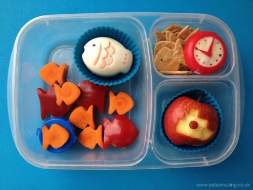 Eats Amazing - Tiddler themed lunch for Wolrd Book Day - without net