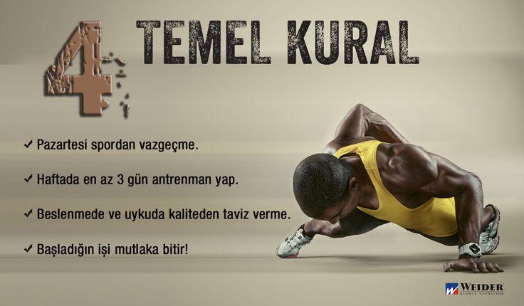 #weider #weiderturkiye #monday #sağlık #health #motivasyon #motivation #go #kardiyo #supplements #fitness #fit #gym #cardio #bodybuilding #vücutgeliştirme #muscle #muscleman #healthy #training #overtraining #proteintozu #proteinpowder #workout #sporcugıdaları #shapeyourbody