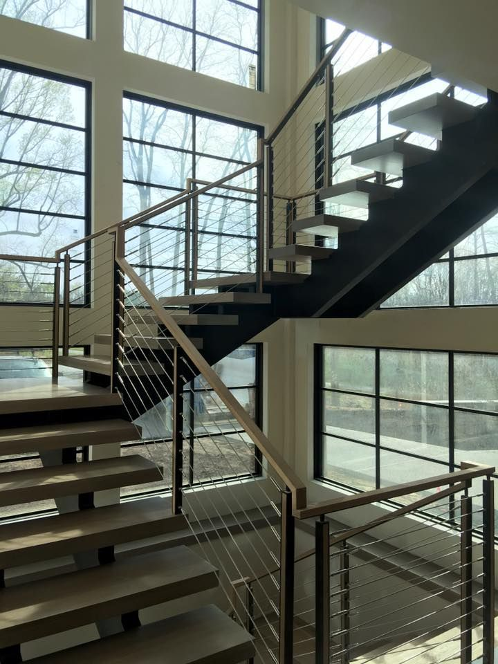 123 Best Interior Decor Cable Railings Images On Pinterest Stairs Staircase Ideas And Banisters