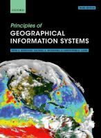 Principles of geographical information systems / Peter A. Burrough, Rachael A. McDonnell and Christopher D. Lloyd