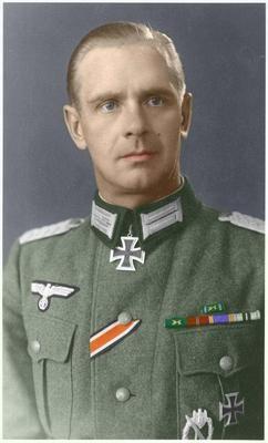 Alfonso Rebane , spanish officer at Division Azul. Russia 1943 Saludos Jorge